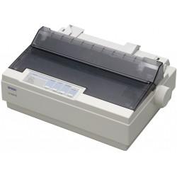 Imprimante matricielle Epson LX-300+II 9 aiguille monochrome USB, parallèle et série