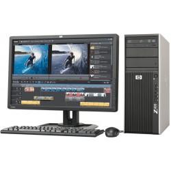 "PC  COMPLET HP Z400 Core i7-920 8 GO 1 To NVIDIA GTX 650 Ti ECRAN 22"""