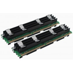KIT MEMOIRE 4 GO SQP 2x2 Go DDR2-667 ECC PC2-5300 MAC PRO
