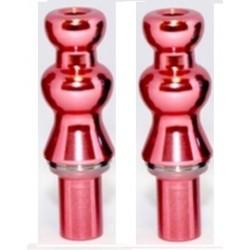 2 Drip Tip  ALUMINIUM  Gourde ROSE