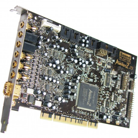 Carte son Creative Sound Blaster Audigy 2 ZS GOLD 24 bits  192 kHz 7.1 FIREWIRE SB0350