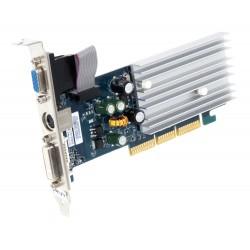 CARTE VIDEO Gigabyte PNY GeForce 6200 512 MB TV-Out DVI VGA AGP 8X