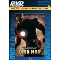 DVD à la séance IRON MAN lisible pendant 24H après 1er lecture