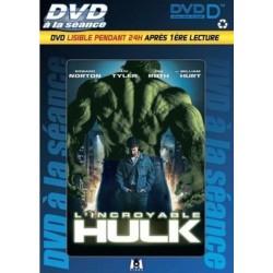 DVD à la séance L'INCROYABLE HULK  lisible pendant 24H après 1er lecture