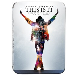 Blu-Ray Michael Jackson's This is it - Edition BOITIER METAL