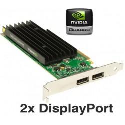 CARTE VIDEO NVIDIA Quadro NVS 295 256 MB  2 X DisplayPort PCI-E