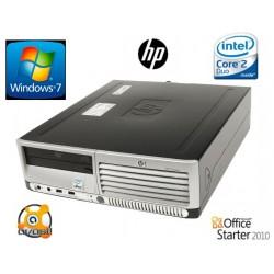 PC HP DC7700 intel CORE 2 E6300 2 GO HDD 160 GO DVD / CDRW WINDOWS 7
