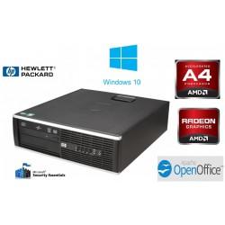 PC HP PRO 6305 AMD A4 A4-5300B 3.4 GHz 4 GO 320 GO RADEON HD7480 DVDRW