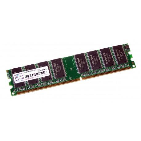 TRANSCEND 1Go DDR 400MHz PC-3200 Non-ECC CL3 DIMM 184-Pin