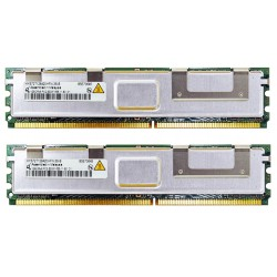 KIT MEMOIRE DDR2 QIMONDA HP 2 Go (2x 1Go) PC2-5300FB 667 ECC 398706-551