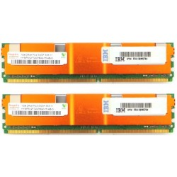 KIT MEMOIRE DDR2 HYNIX IBM 2 Go (2x 1Go) PC2-5300FB 667 ECC 39M5784