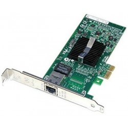 Carte RESEAU INTEL PRO 1000 PT SINGLE Port Gigabit PCIe x4 D33025