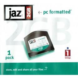CARTOUCHE DISQUE IOMEGA JAZ 2 GB FORMATER PC