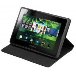 Housse Etui portfolio noir SIMILI CUIR pour BlackBerry PlayBook