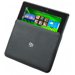 Etui CUIR NOIR Leather Sleeve pour BlackBerry PlayBook