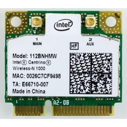 CARTE WIFI MINI-PCI EXPRESS  INTEL Centrino Wireless-N 1000  112BNHMW 802.11N