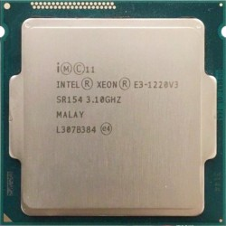 CPU INTEL Xeon Quad Core E3-1220 3.1Ghz 8Mo LGA1150 SR154