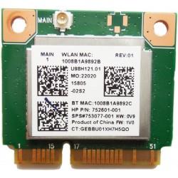 CARTE WIFI Bluetooth 4.0 MINI-PCI EXPRESS Realtek RTL8723BE 300 Mbps