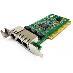 Carte RESEAU Touchstone PCB0168 REV A 3 PORT Ethernet PCI