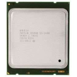 CPU Intel Xeon E5-2680 2.7 GHz 8 Core 20 Mo Socket LGA 2011 SR0KH