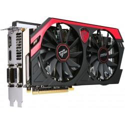 CARTE VIDEO MSI GeForce GTX 760 Twin Frozr GAMING 2GB 2xDVI HDMI DISPLAY PCIe