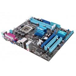 CM  micro ATX ASUS P5G41T-M LX SOCKET 775 DDR3 LAN audio HD (8 canaux)  PCI E VGA