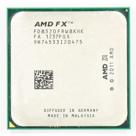 Processeur AMD FX 8320E 3.2 GHz 8-Core Socket AM3+ FD832EWMW8KHK