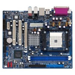 CM MICRO ATX ASRock K8NF4G-VSTA SOCKET 754 GeForce 6100 UDMA133, SATA-300 LAN vidéo Audio PCI E