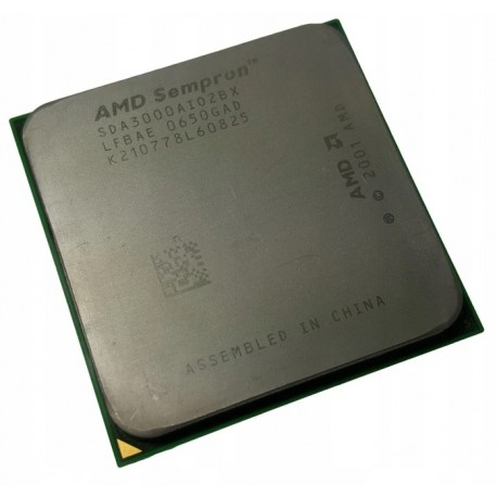 Processeur  AMD Sempron 64 3000+ 1.8 GHz Socket 754 SDA3000AIO2BX