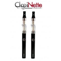 KIT 2  E-CIGARETTE E-SMART CLOPIPLUME CLOPINETTE NOIR