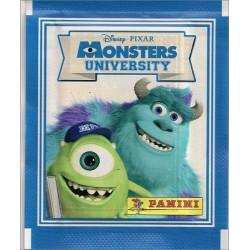 40 STICKERS PANINI Disney Pixar MONSTRE ACADEMY  SOUS BLISTER