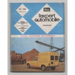 REVUE TECHNIQUE L'EXPERT AUTOMOBILE N°119 SIMCA FOURGONNETTE VF 2