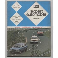 REVUE TECHNIQUE L'EXPERT AUTOMOBILE N°119 SIMCA 1307 GLS - 1307 S - 1308 GT