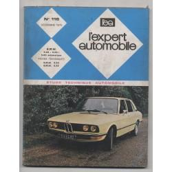 REVUE TECHNIQUE L'EXPERT AUTOMOBILE N°116 BMW 5.20 5.20i 5.20 AUTOMATIQUE