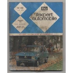 REVUE TECHNIQUE L'EXPERT AUTOMOBILE N°89 PEUGEOT 104