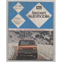 REVUE TECHNIQUE L'EXPERT AUTOMOBILE N°105 RENAULT 5 LS