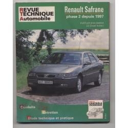 REVUE TECHNIQUE AUTOMOBILE  RTA RENAULT SAFRANE PHASE 2 ESSENCE & 2.2D  A PARTIR 1997