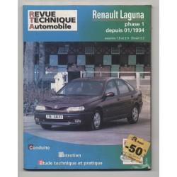 REVUE TECHNIQUE AUTOMOBILE  RTA RENAULT LAGUNA  PHASE 1 ESSENCE & 2.2D  A PARTIR 01/1994