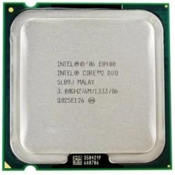 CPU INTEL Core 2 Duo E8400 3 Ghz 6 Mo 1333 Mhz LGA775 SLB9J