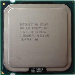 CPU INTEL Core 2 Duo E7200 2.53Ghz 3Mo1066 Mhz LGA775 SLAPC