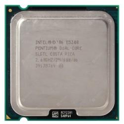 Intel PENTIUM E5300 DUAL CORE 2.6 GHz 2Mo/800 socket 775 SLGTL