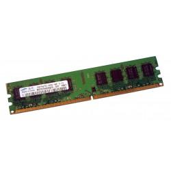 MEMOIRE 2 GO SAMSUNG 2 Go DDR2 PC2-6400u 667 MHZ