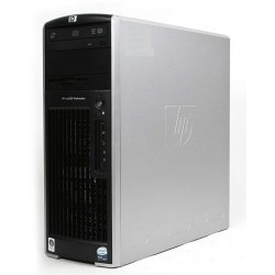 STATION HP XW6400 BI XEON E5310 8 CORE 8 GO 500 GO NVIDIA  DVDRW