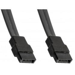 CABLE SATA HP  SATA Connecteur HDD droit  32 cm 381868-004
