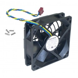 Ventilateur HP FOXCONN 92x92x25mm PV902512PSPF 12V 0.40A 4 fils 432768-001