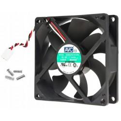 Ventilateur AVC 92x92x25mm DS09225S12H-034 12V 0.41A 3 fils