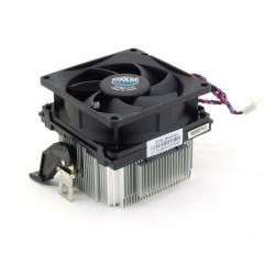 Radiateur Aluminium Ventilateur HP COOLMASTER  POUR CPU AMD Socket 939 AM2 AM3