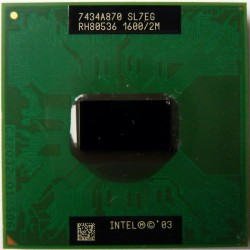 Intel Centrino Pentium M 725 1.6 GHz mPGA478C FSB 400 2 Mo SL7EG