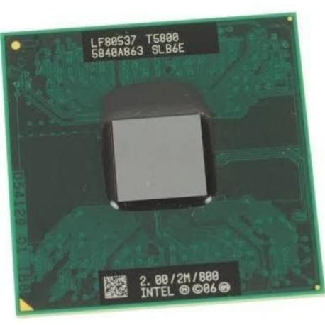 Intel dual core PENTIUM Mobile T5800 2 ghz 2MB SLB6E Socket P