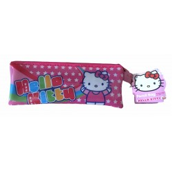 TROUSSE SCOLAIRE PLATE TRANSPARENTE HELLO KITTY
